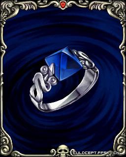 蓝宝石指轮