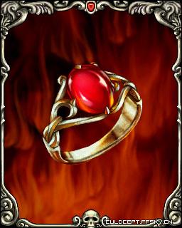红宝石指轮
